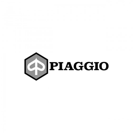 Vespa Piaggio Logo Vinyl...