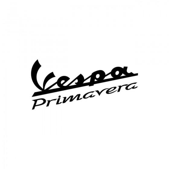 Vespa Primavera Vinyl Decal...