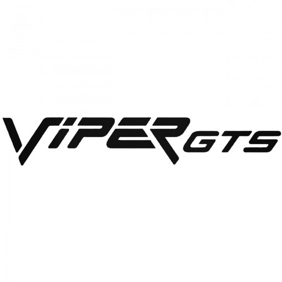 Viper Gts Graphic Decal...