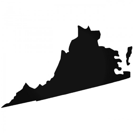 Virginia Home State Decal...