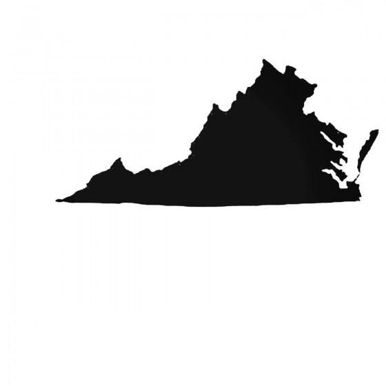 Virginia Va State Decal...