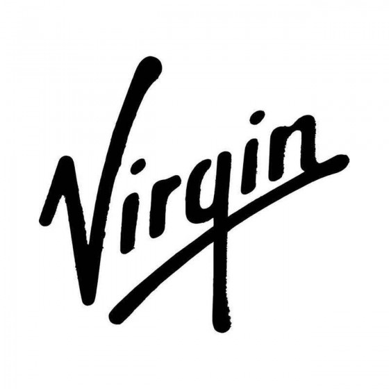 Virgin Vinyl Decal Sticker