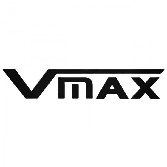 Vmax Decal Sticker