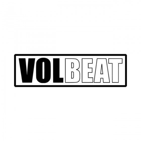 Volbeat Logo Vinyl Decal...