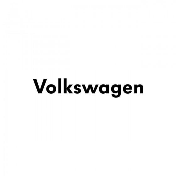 Volkswagen Ecriture Vinyl...