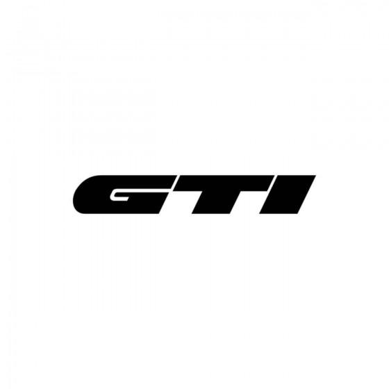 Volkswagen Gti Simple Vinyl...