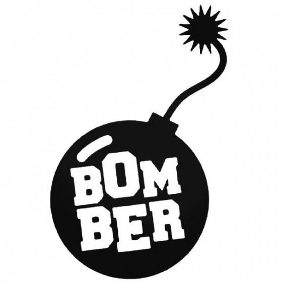 Bomber Jdm Decal Sticker