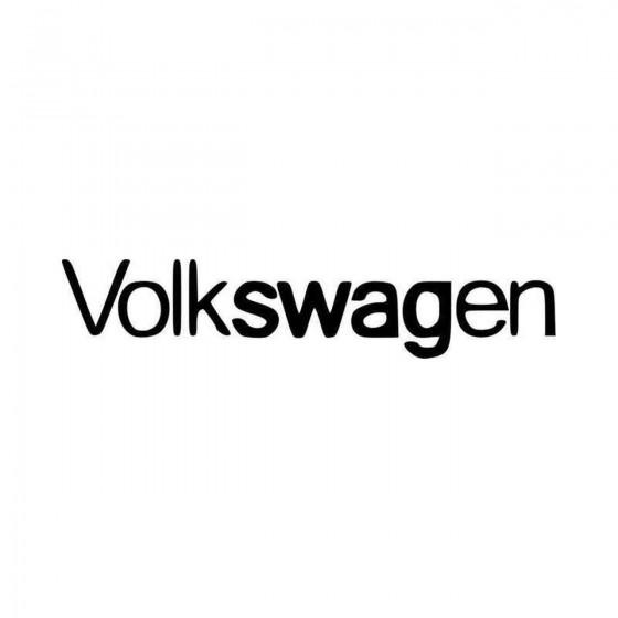 Volkswagen Swag Dub Vdub...