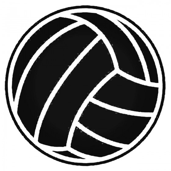 Volleyball Ball V1 Decal...
