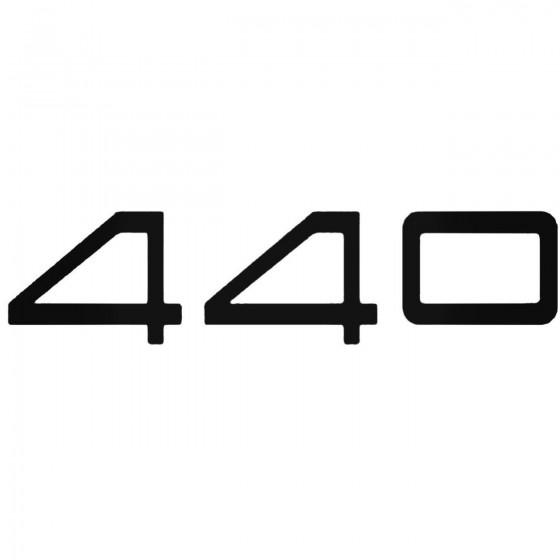 Volvo 440 Decal Sticker