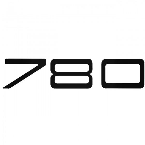 Volvo 780 Decal Sticker