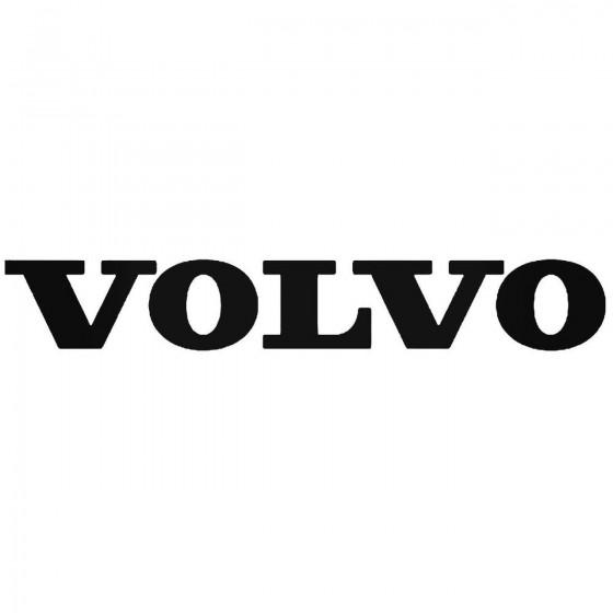 Volvo Logo Vinyl Decal Sticker