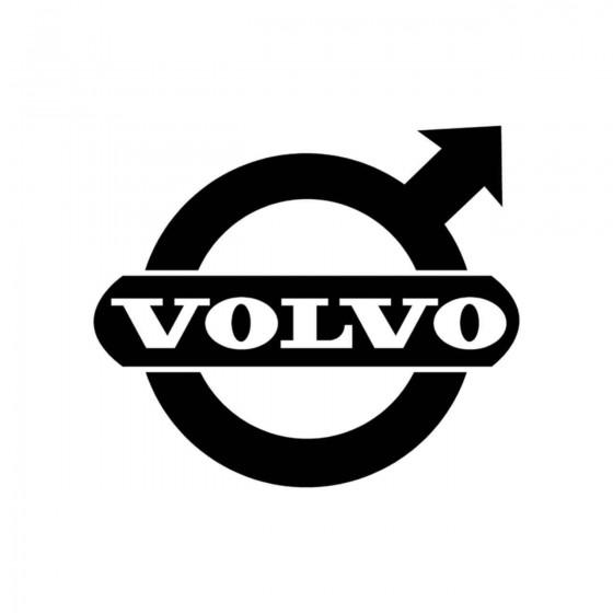Volvo Old Plein Vinyl Decal...