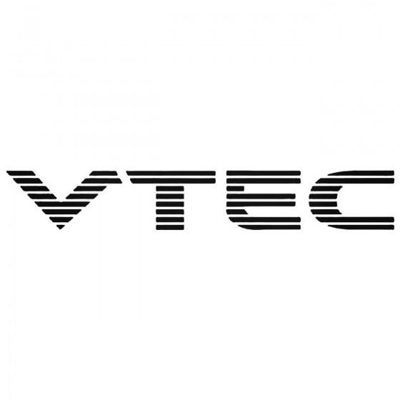 Vtec Graphic Decal Sticker