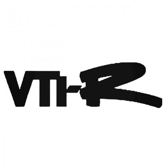 Vt R Decal Sticker 1