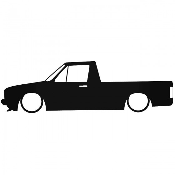 Vw Caddy 1 Low Decal Sticker