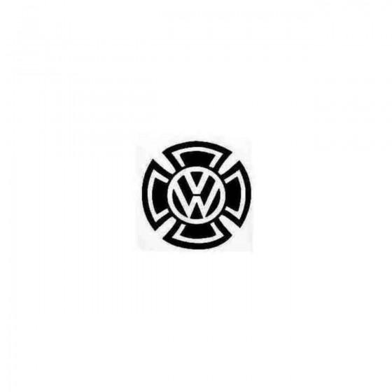 Vw Maltese Cross Decal Sticker