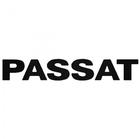 Vw Passat 3 Decal Sticker 1