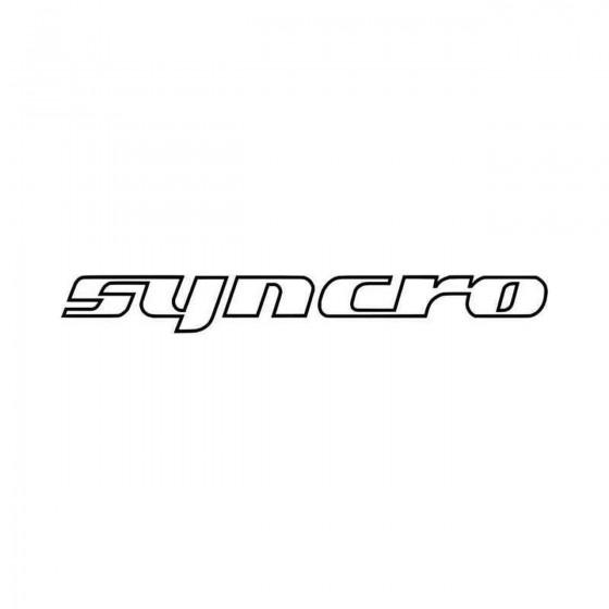 Vw Syncro Outline Vinyl...