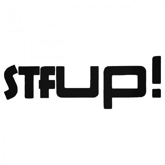 Vw Up Stf Decal Sticker