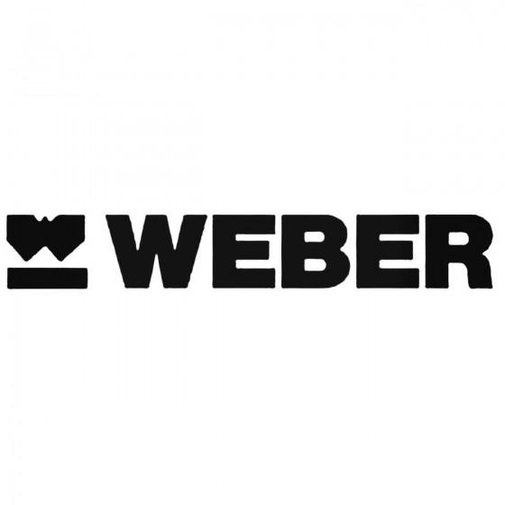Weber Decal Sticker