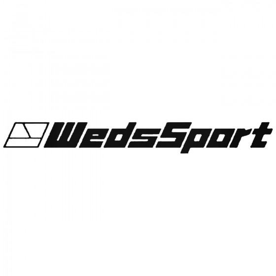 Wedssport Wheels Decal Sticker