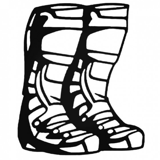 Boots Sticker