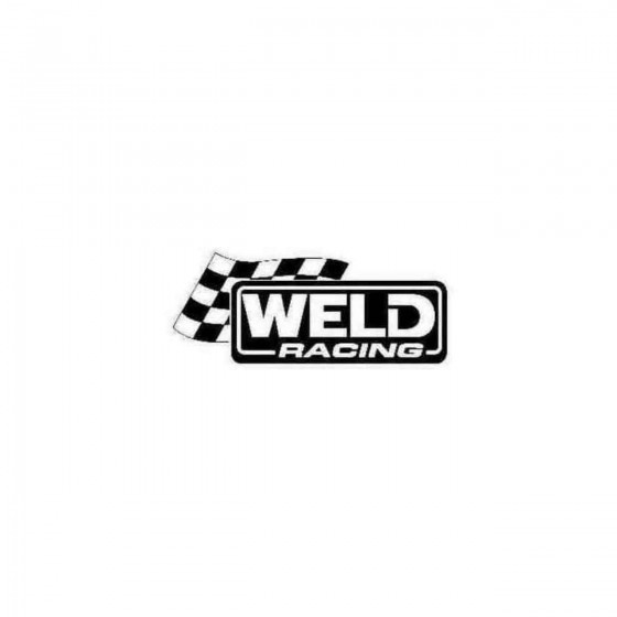 Weld Racing Decal Sticker
