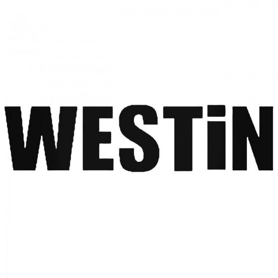 Westin Automotive Decal...