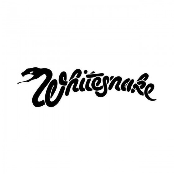 Whitesnake Band Logo Vinyl...