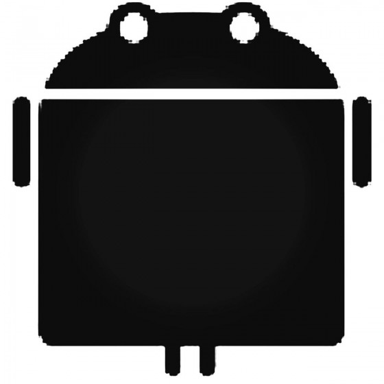 Wide Android Decal