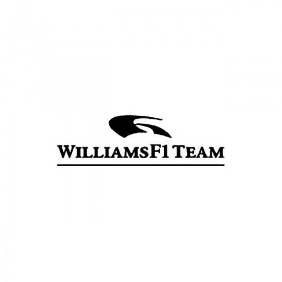 Williams F1 Team Vinyl Decal