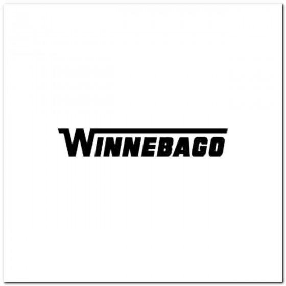 Winnebago Decal Sticker