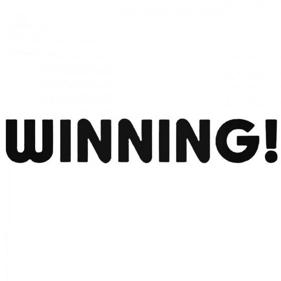 Winning Jdm Decal Sticker 1
