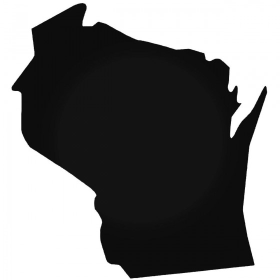 Wisconsin Home State Decal...