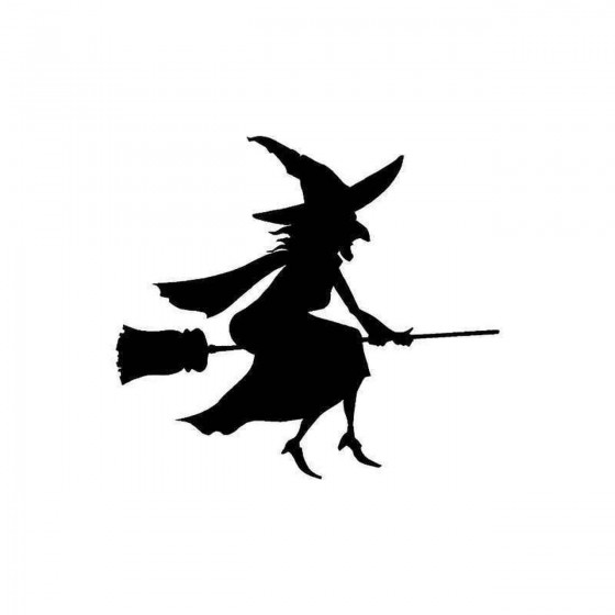 Witch On Broomstick...
