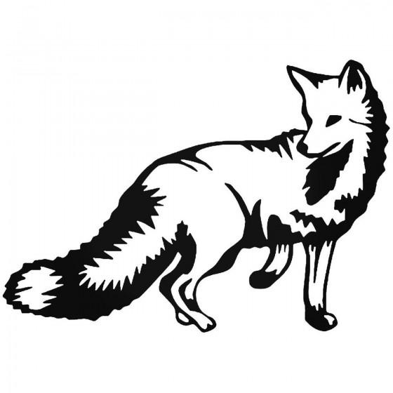 Wolf 6 Vinyl Decal Sticker