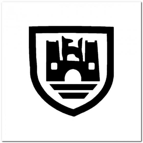 Wolfsberg Vinyl Decal