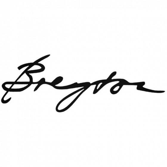 Breyton Decal Sticker