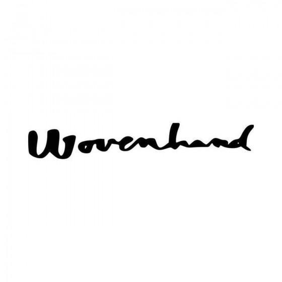 Wovenhand Band Logo Vinyl...
