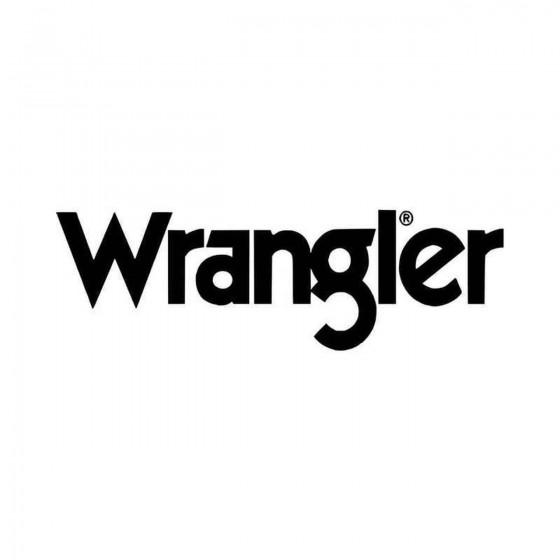 Wrangler Logo Vinyl Decal...