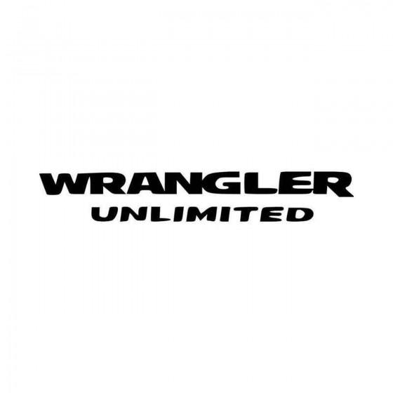 Wrangler Unlimited Vinyl...
