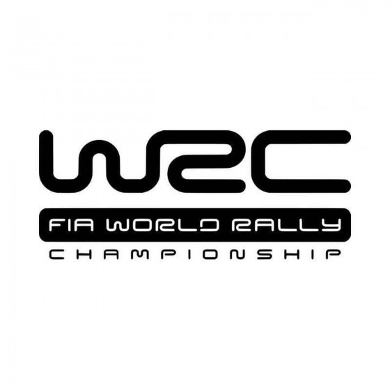 Wrc World Rally Vinyl Decal...