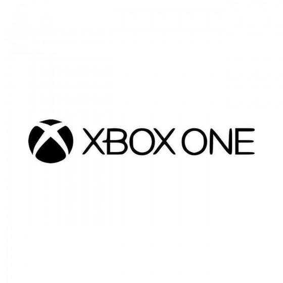 Xbox One Hoo Vinyl Decal...