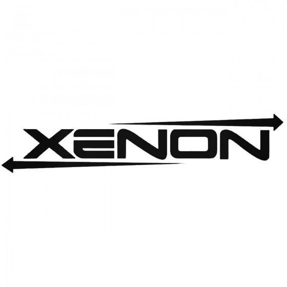 Xenon Graphic Decal Sticker