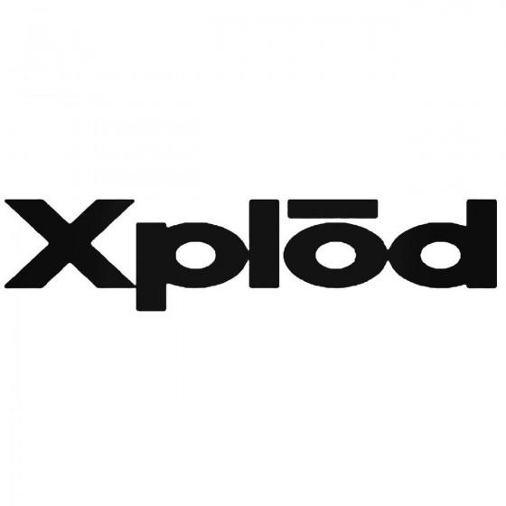 Xplod Audio Logo Vinyl...