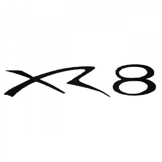 Xr8 Decal Sticker