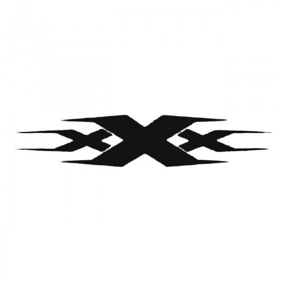 Xxx Decal Sticker