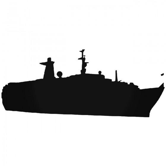Yacht Vinyl Decal Sticker
