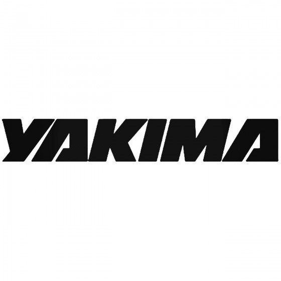 Yakima Bike Vinyl Decal...